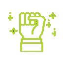 Icono de un puño